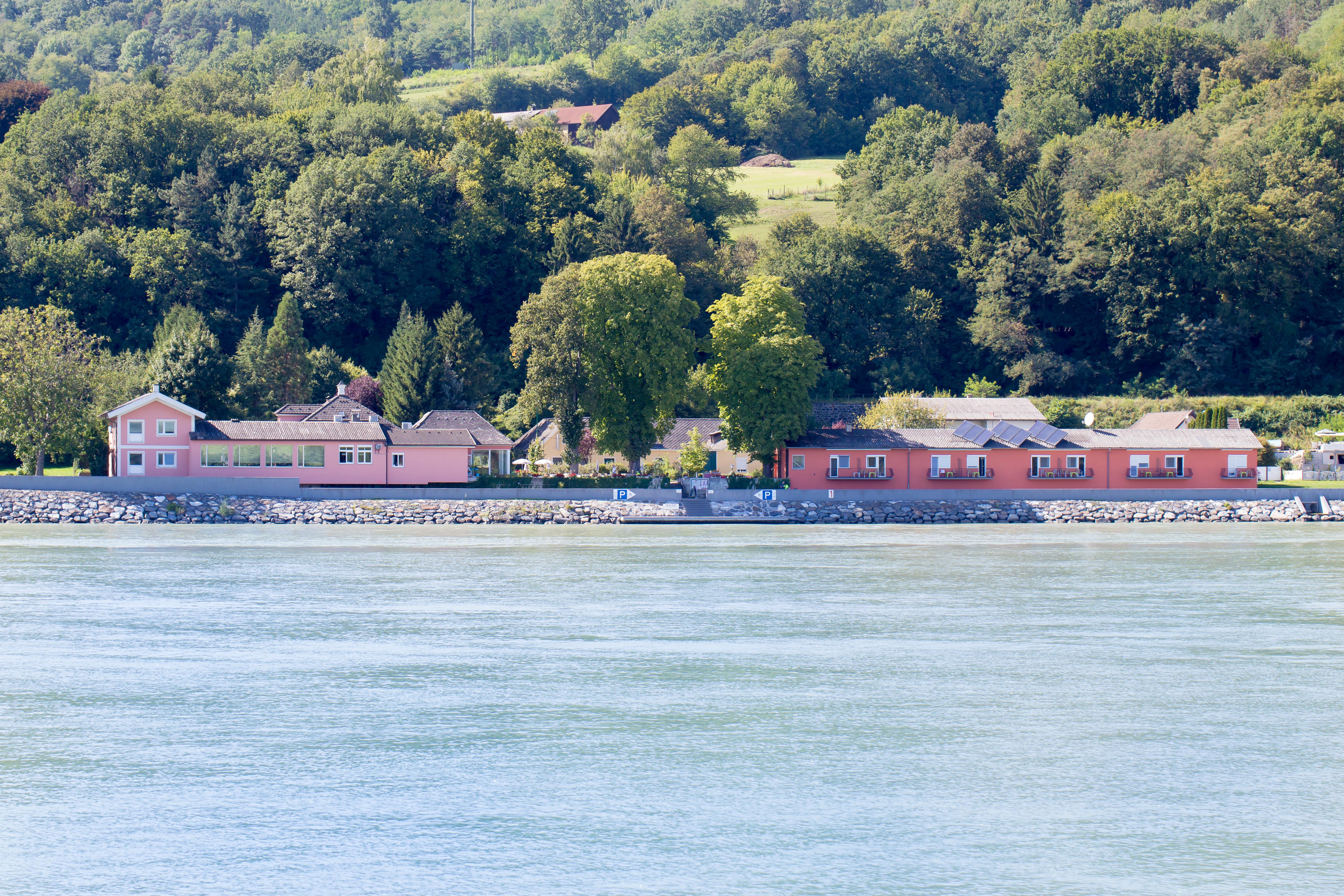 Die Donaurast Außenansicht